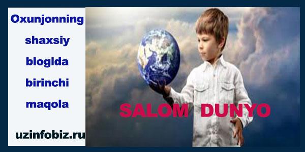 Salom dunyo