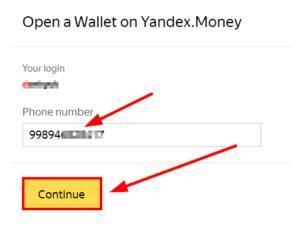 Yandex dengi elektron hamyon ochmoqchimisiz? Unda marhamat!!!
