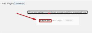 WordPress sayt yoki blogga qanday qilib plagin o'rnatish kerak?