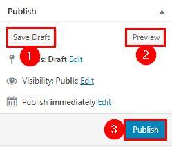 WordPress boshqaruv paneli menyularining vazifalari!