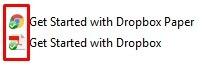 dropbox fayllari