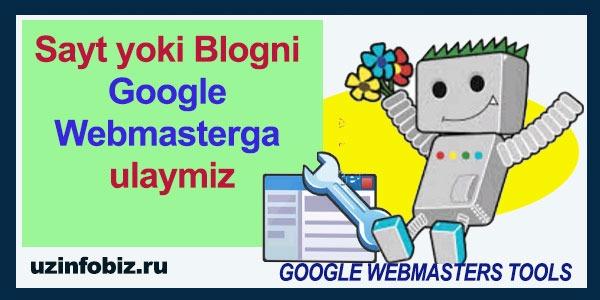 wordpress saytni google webmasterga qanday ulash kerak?