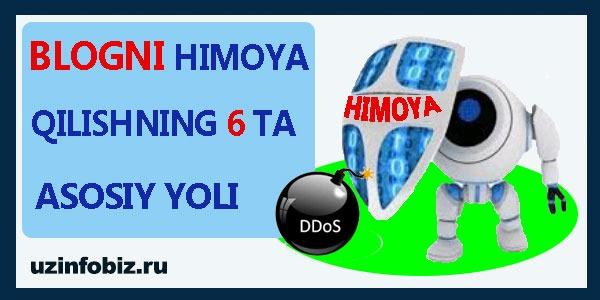 sayt himoyasi