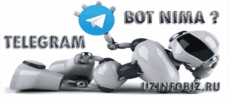 telegram bot nima