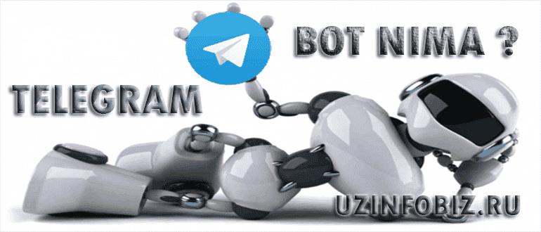 telegram bot nima